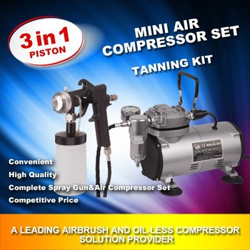 oil-free air compressor MOD-470AK with no air pollution