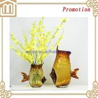 fish shaped cheap flower deco vase