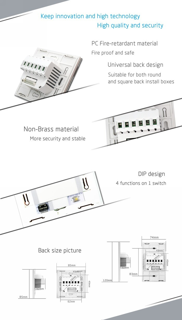 smart iot home automation system of wifi control dimmer switch, View ...