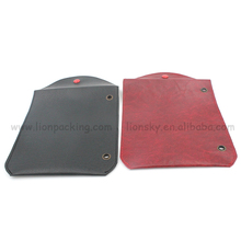 wholesale custom leather drawstring pouch for jewelry