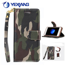 New Arrival Camouflage PU Leather Phone Case For Iphone 5S/SE Crazy Pattern Magnetic Buckle Back Cover