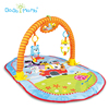 cotton plush baby play gym mats/baby floor play mat/soft non toxic baby gym play mat HX9104