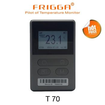 Rechargeable GPRS  real timeTemperature humidity shock data logger cold chain