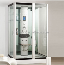 On sale OEM manufacturer steam massage tempered glass bathroom shower enclosure /shower cabin /shower room