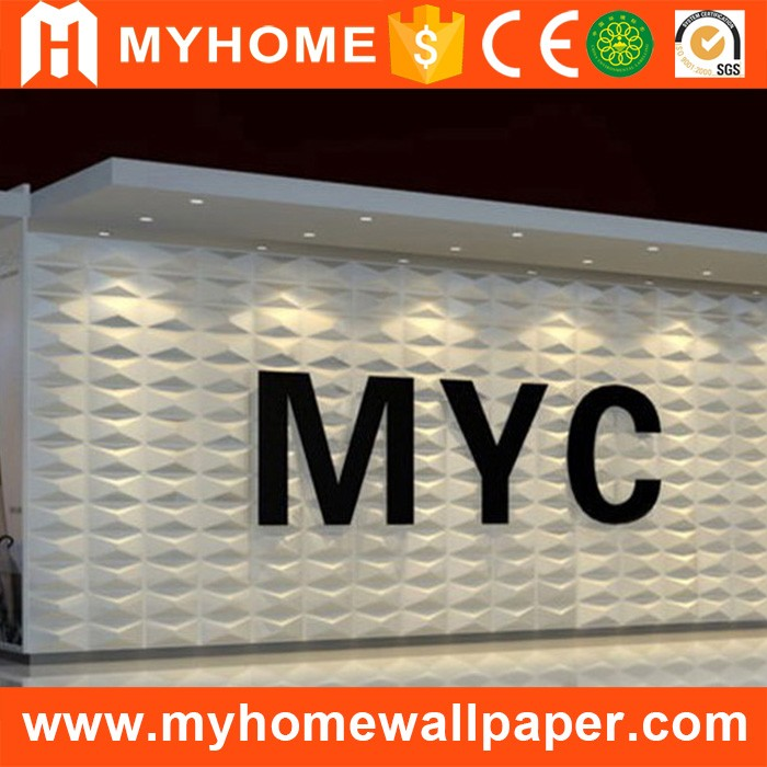 Administration , Entertainment , Commerce , Household Usage and Wall Coating Type 3d decorative wall panels