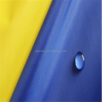 plain 190T pa coated be tent and so on waterproof taffeta fabric