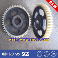 Plastic hard gear wheel for RC helicopter