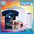 Hot sale t-shirt sublimation heat transfer paper roll best quality printing a4 transfer paper