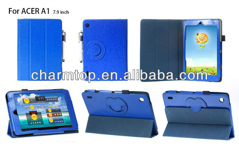Smart Leather Cover For Acer Iconia A1-810