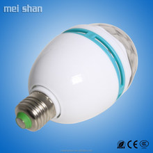 1w led bulb glass cover color changing lamp for indoor lighting