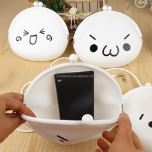 Fashion Cute Cartoon Animal Shape Silicone Coin Wallet Change Purse Bag for Girls Kids Gift
