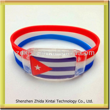 china silicone LED wristbands brazil 2014 world cup jewelry connector