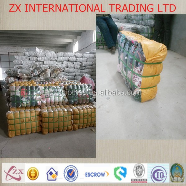 unsorted sorted used clothes raw material professional packing bales used clothing 45kgs pack of clothes used