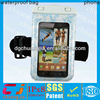 new waterproof bag for sumsung galaxy note with armband with IPX8 certificate for swimming