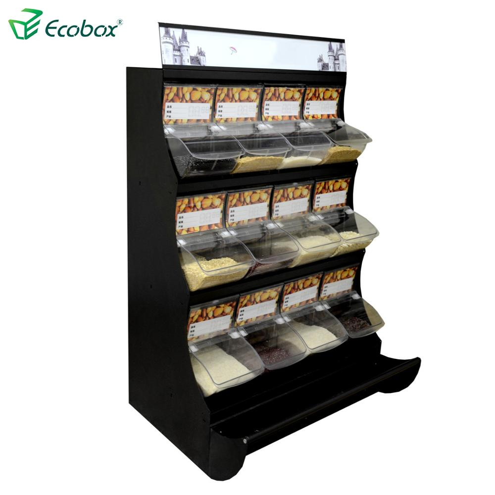 supermarket candy display shelf/rack store equipment with acrylic box