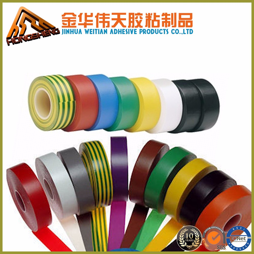 Insulation Pvc Electrical Tape PVC Eletrical Insulation Tape, flame retardant and non flame retardant