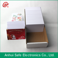 2015 special offer CR80 inkjet direct print pvc card