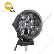 Super brightness 6 Inch Round 45w Led Driving Light for truck offroad jeep 4x4