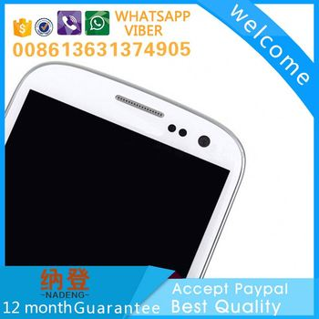 made in China original lcd screens for galaxy s3 gt-i9300 accept paypal