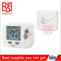 Manufacturer HVAC LCD Wireless No Fan Programmable Cool and Heat Thermostat