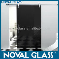 Safety Decorative Glass Sliding Door