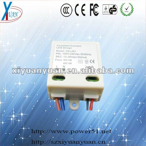 NEW design dc 5w 15v to18v dimmable led driver