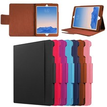Shenzhen Factory Business Style Leather Case for iPad Pro 9.7, for ipad pro 9.7 case tablet cover with holder