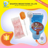 Novelty plastic toilet candy toy(powder candy+lollipop)