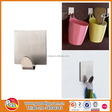 clothes metal hanging stainless steel sticky hook