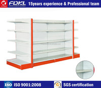 Good quality commercial gondola shelving units, racks shelves for general store,supermarket shelves dimensions