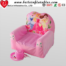 Pink inflatable comfortable single durable inflatable chair sofa relax