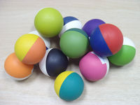 Hot Sale Rubber high bouncing flower ball, hand ball, squash ball
