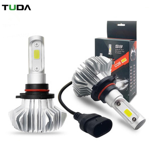 Top Quality Factory Price Auto 12V Led Car Headlight H4,9006 H7 H11 Bulbs H13 Brightest 12V 9005 S9 Led Headlight H7