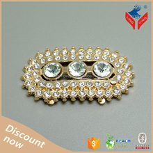 High quality popular luxury delicate new jewelry shoe buckle for ladies high heel