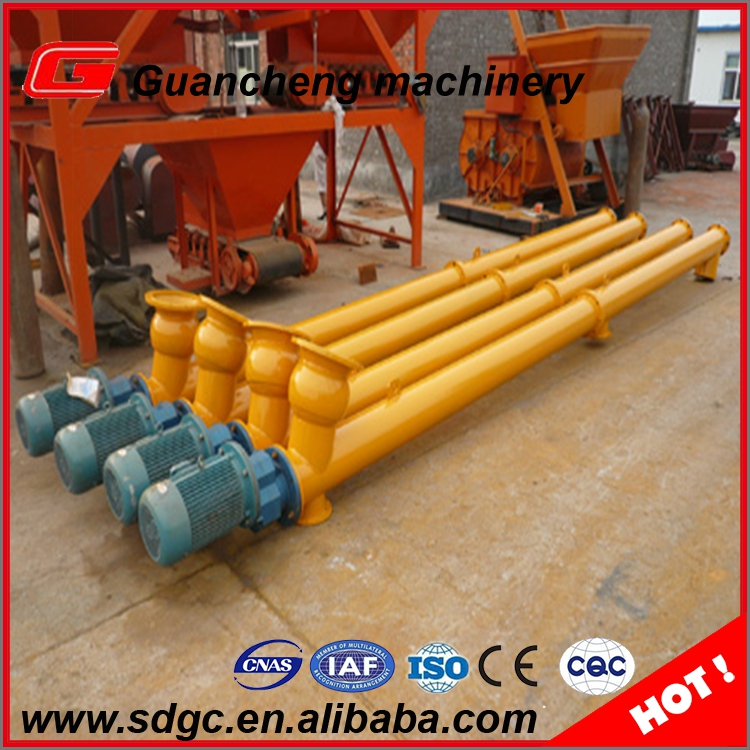 LSY series cold sand screw conveyor, auger spiral screw conveyors prices for sand cement