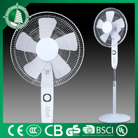 "FS-40-337 no noise motor 5AS blades strong innovate design 16"" electric stand Salable fan"
