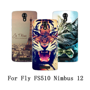 For Fly Fs510 Nimbus 12 Cover 5.0 Inch Phone Case Soft TPU Silicone Back Cover Printed Protective Case For Fly Nimbus 12 FS510