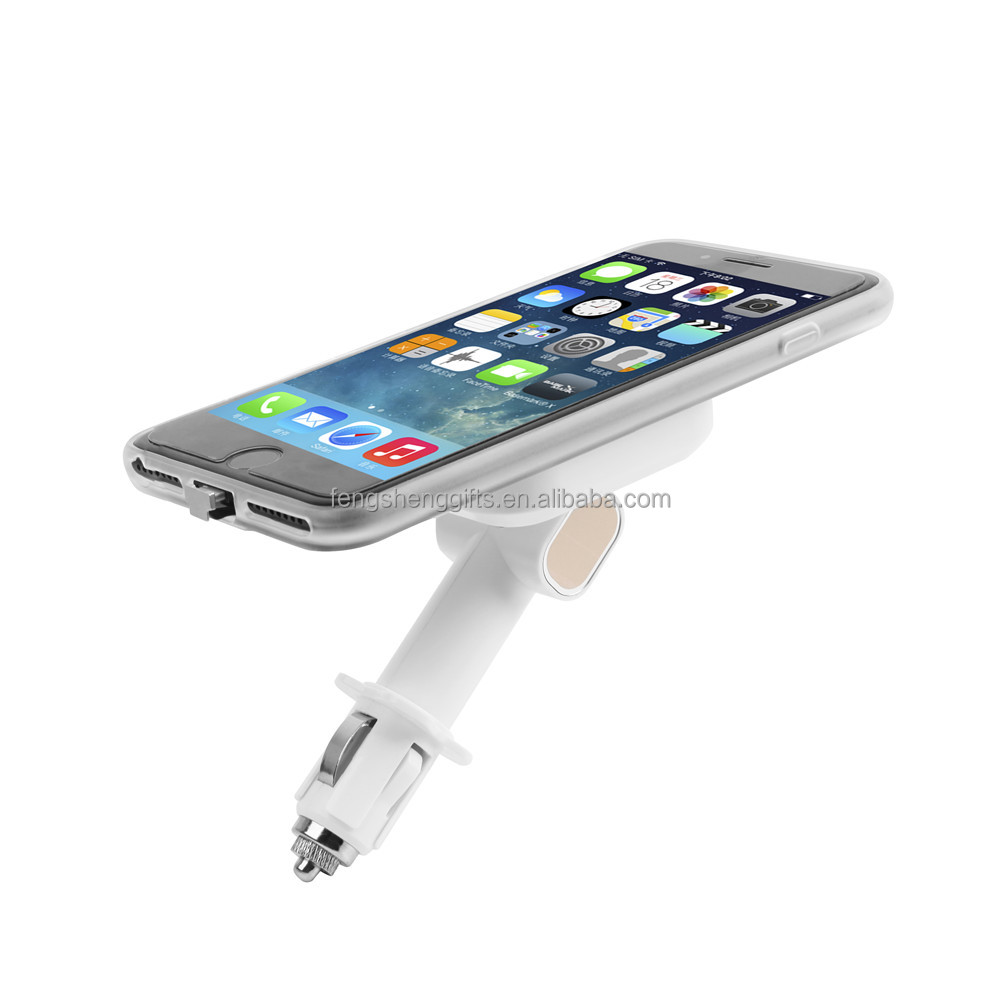 Newest Multifunction QI Wireless Charger Receiver Car Magnetic Mobile Phone Stand Charger For IPhone 7/7