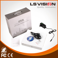 LS VISION 4channel Security Ahd DVR H.264 Hybrid AHD DVR 8ch full HD hi-3520 dvr