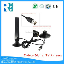 Indoor Digital TV Antenna 16dBi High Gain Full HD 1080p VHF / UHF DVB-T F Male TV Antenna
