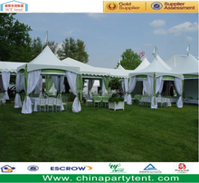 Waterproof PVC Fabric Outdoor Gazebo with Lining and Curtain