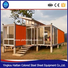 Casas modulares china 2-Bedroom prefab container homes prefabricated stylish houses