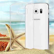 Hot selling crystal transparent cover case for Samsung Galaxy S6 Edge G9250
