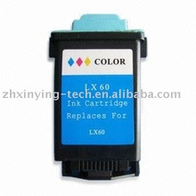 Color inkjet Ink Cartridge 60 use for laser printer