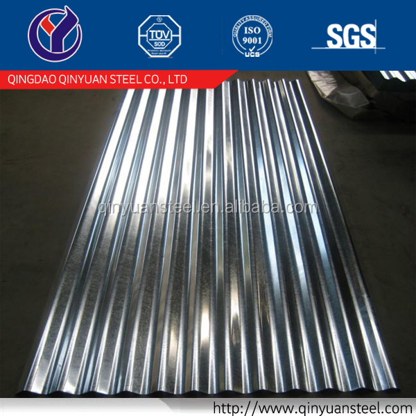 rib type corrugated color roof plate