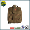 Military 600D First Aid Bag folding bag into pouch Army bag First Aid Pouch With Mesh Pocket