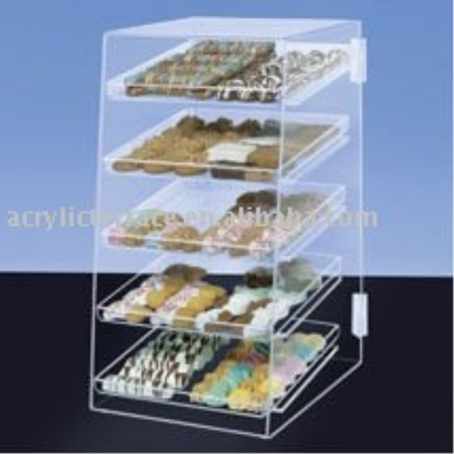 Clear Acrylic Baked Good/Cookie Counter Display C0408025