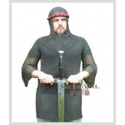 Chainmail Armour Black