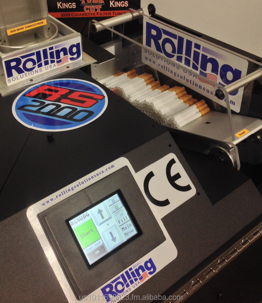 RYO Automatic cigarette making/rolling/filling Machine