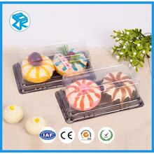 PVC/PET macaron blister clamshell packaging tray